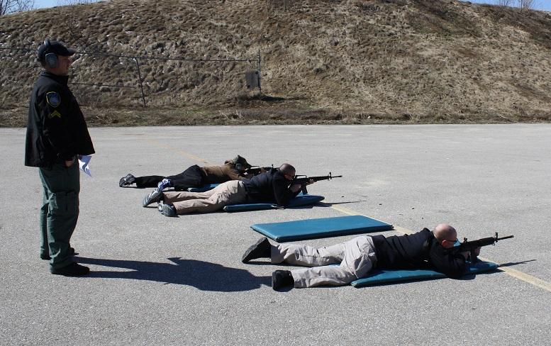 Target practice lying down