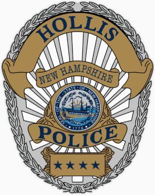 Hollis Police Badge